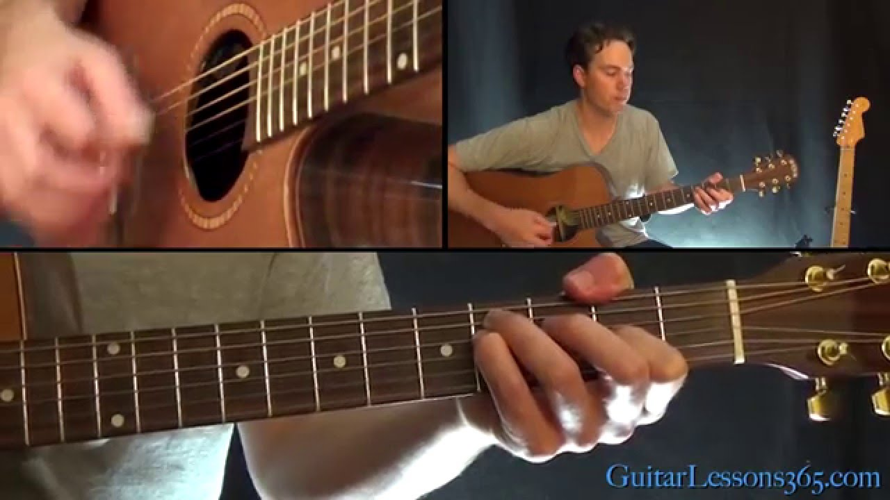 High and Dry Guitar Lesson – Radiohead – Acoustic