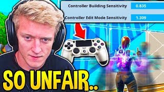 Tfue SERIOUSLY Considers SWITCHING To CONTROLLER for this EXCLUSIVE Setting!