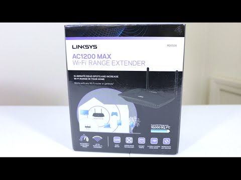 Linksys AC1200 MAX Wi-Fi Range Extender - Unboxing & First Look!