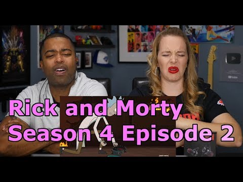 "Rick and Morty Season 4 Episode 2 ""The Old Man and the Seat"" (Jane and JV's REACTION 🔥)"