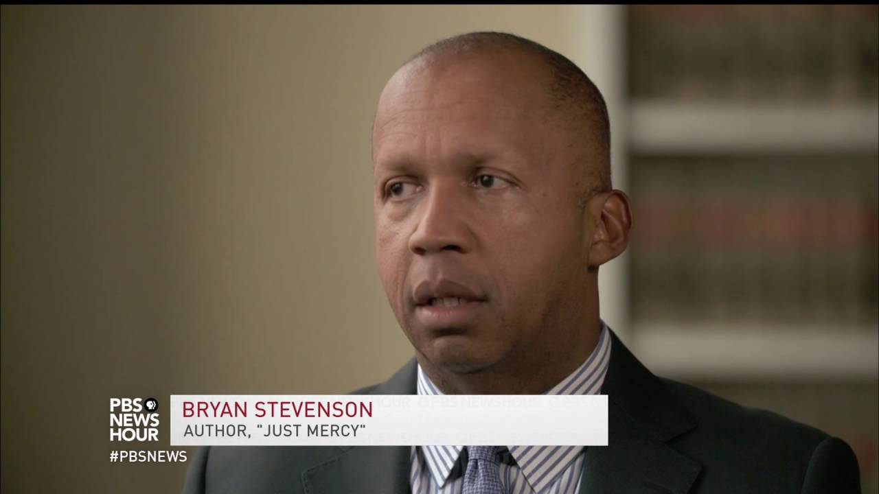 Bryan Stevenson on PBS NewsHour
