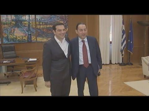 Συνάντηση Αλέξη Τσίπρα με τον Τζιάνι Πιτέλα