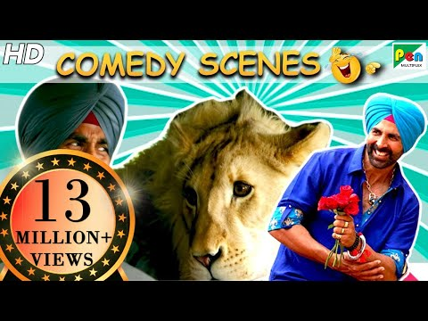 Singh Is Bliing Best Of Comedy Scenes | Akshay Kumar, Amy Jackson, Lara Dutta | HD