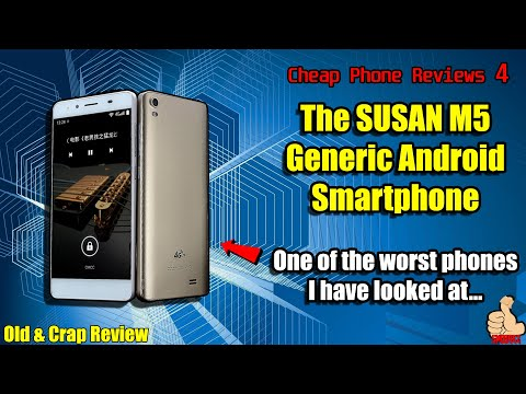 SUSAN M5 (Generic/Unbranded) Phone Review | Too good to be true? | DO NOT BUY!