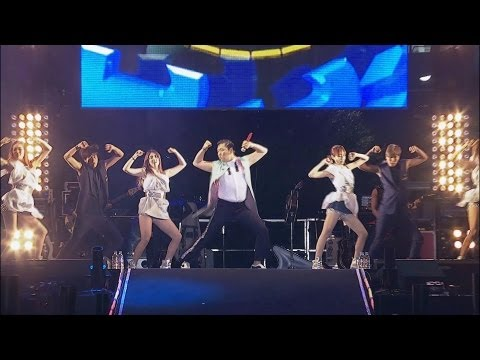 PSY – SHAKE IT (흔들어주세요) @ Seoul Plaza Live Concert
