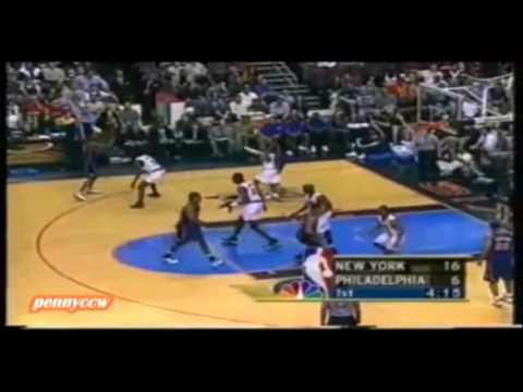 NBA Greatest Duels: Allen Iverson vs. Latrell Sprewell (2001) Non-English Commentary