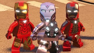 "What's up everybody! :) In this video Ill show you all Iron Man armor suit ups and gameplay in LEGO Marvel's Avengers! :DLEGO Marvels Super Heroes Playlisthttps://www.youtube.com/playlist?list=PLkGH6a3UYFolUVkDTNGazNkKIb7vreJm2LEGO Marvels Avengers Playlisthttps://www.youtube.com/playlist?list=PLkGH6a3UYFokG1Lv0KYeVssD0mpFsi-YlLEGO Marvels Avengers Devil Dinosaur Skydivinghttps://youtu.be/tr1FnGBzFTYLEGO Marvels Avengers Part 2 Avengers Age of Ultron Movie Walkthough No Strings On Mehttps://youtu.be/R-RJvjecb5oLEGO Marvels Avengers All Big Figure Transformationshttps://youtu.be/tpbtorKmJIELEGO Marvels Avengers All Final Boss's & ENDINGShttps://youtu.be/KujdQpbDzTALEGO Marvels Avengers All Absorbing Man Abilities & How to Unlockhttps://youtu.be/nIG1J5w045ALEGO Marvels Avengers S.H.I.EL.D. Base Hub All Character Tokens/Gold Bricks/Collectibleshttps://youtu.be/Aygj8nLVNssLEGO Jurassic World Playlisthttps://www.youtube.com/playlist?list=PLkGH6a3UYFolFvAqqqk6hMIZn9S5Ccgn0LEGO Jurassic World All Final Boss's & ENDINGShttps://youtu.be/3Jia-CoXcd4LEGO Jurassic World All Cut Scenes & Boss Fightshttps://youtu.be/EZhp0GwpyvoLEGO Jurassic World Raptors in the Kitchen Scene ""Jurassic Park""https://youtu.be/kICHFFQDQ7YLEGO Jurassic World Indominus Rex The New Raptor Alpha!https://youtu.be/PCB5cbvNoZYLEGO Jurassic World Defeat The Final Boss, THE END ""Jurassic Park The Lost World""https://youtu.be/Th6C6kgB2PQLEGO Jurassic World Indominus Rex Escape Bonus Levelhttps://youtu.be/6T2_NBxUz3MLEGO Jurassic World Defeat The Final Boss, THE END ""Jurassic World""https://youtu.be/Llek7-IOC3ULEGO Jurassic World All Cut Scenes & Boss Fights HD 60FPShttps://youtu.be/JuHef5cnA1ILEGO Jurassic 3 The Movie All Cut Scenes & Boss Fights HD 60FPS 1008phttps://youtu.be/h4wlOxhqyroLEGO Jurassic World Defeat The Final Boss, THE END ""Jurassic Park III""https://youtu.be/Cy8PJIJTK6ALEGO Jurassic World Defeat The Final Boss, THE END ""Jurassic Park""https://youtu.be/3hILMo-OiSMLEGO Jurassic World's T. Rex Destroys the Mobile Command Center ""Jurassic Park The Lost World""https://youtu.be/C9OuQREN4-8LEGO Jurassic World Spinosaurus Free Roam Gameplay & Ability Showcasehttps://youtu.be/Ra2lkxkQr-ELEGO Jurassic World Ankylosaurus vs Raptors Mini Boss Fight, Jurassic Park 3https://youtu.be/Uagk0EU_9ZgLEGO Jurassic World Zara Eaten By Mosasaurushttps://youtu.be/ZFhm0k8E9fULEGO Jurassic World Indominus Rex Hunts Owen & Clairhttps://youtu.be/MctNA-Dp7XwLEGO Jurassic World Mini Indominus Rex Free Roam Gameplay & Ability Showcasehttps://youtu.be/geG2YNbfiqMLEGO Dimensions Playlisthttps://www.youtube.com/playlist?list=PLkGH6a3UYFokWjKz-yx4fLkEX3BZkxtjbLEGO Dimensions All Character Abilitieshttps://youtu.be/v8FbbqjrJXoLEGO Dimensions A Springfield Adventure Level Pack Walkthroughhttps://youtu.be/B7EE1YPRS9QLEGO Dimensions Stay Puft Marshmallow Man Defeat The Final Boss, THE ENDhttps://youtu.be/Fr7m2x5Iqe0LEGO Dimensions Ghostbusters 1984 & 2016 Stay Puft Marshmallow Man Defeat The Final Bosses, THE ENDhttps://youtu.be/GDuudeyZG8MLEGO Dimensions A Springfield Adventure All Cut Scenes & Ending (The Simpsons Level Pack)https://youtu.be/vW4sjLBfVzALEGO Dimensions Ghostbusters (2016) Story Pack All Cut Scenes & Endinghttps://youtu.be/hxsp8wAW4tsLEGO Dimensions Sonic The Hedgehog & The Simpsons All Cut Scenes & Ending 4k UHD 2160phttps://youtu.be/8vnyRB8z6kwLEGO Dimensions Sonic The Hedgehog & Ghostbusters 2016 All Cut Scenes & Ending 4k UHD 2160phttps://youtu.be/ZwnX296Wp7QLEGO Dimensions Story Mode Walkthrough Part 10 The Phantom Zonehttps://youtu.be/kyIohH545BwA Spook Central Adventure All Cut Scenes & Ending (Ghostbusters Level Pack)https://youtu.be/YAJA-ul6SUgLEGO Ninjago Shadow of Ronin All Boss Fightshttps://youtu.be/wW0aH6MoOW8LEGO Star Wars The Force Awakens Playlisthttps://www.youtube.com/playlist?list=PLkGH6a3UYFok4B8t7DlzHlDyCA5e39M0tLEGO Star Wars The Force Awakens All Kylo Ren Cut Scenes & Funny Momentshttps://youtu.be/LlH4jHzPy-kLEGO Star Wars The Force Awakens Darth Vader VS Kylo Ren Final Boss Fighthttps://youtu.be/92nswCsvEwQLEGO Batman 3 Beyond Gotham Playlisthttps://www.youtube.com/playlist?list=PLkGH6a3UYFoldr2NzOm4N7aqZPw8HjXX7LEGO Batman 3 Beyond Gotham: Defeat The Final Boss, THE ENDhttps://youtu.be/Pzp4bJIx_lMLEGO Batman 3 Beyond Gotham Batcave Hub All Gold Bricks & Collectibleshttps://youtu.be/RzLvbOzVRZ0LEGO Batman 3 Beyond Gotham - How to Unlock Bane & Showcasing his Abilitieshttps://youtu.be/R_fjutEYHjILEGO Batman 3 Beyond Gotham - All Signature Poses & 360 Spin of All Charactershttps://youtu.be/2n02wqpOVzYLEGO Batman 3 Beyond Gotham - All Boss Fightshttps://youtu.be/Xz53z7J1T6YDisney Infinity 2.0 - Showcasing All Characters Costumes, Abilities/Skillshttps://youtu.be/57hjDupiQr4"
