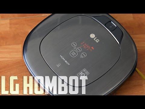 LG Hombot Turbo, review en español (видео)