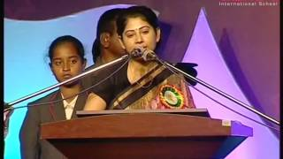 Video Smt.Smitha Sabarwal IAS Full Speech At Akshara School 4th Annual Day Celebrations Hyderabad. MP3, 3GP, MP4, WEBM, AVI, FLV September 2018