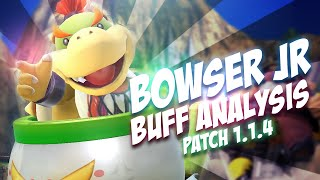 Bowser Jr. Analysis – ZeRo Patch 1.1.4