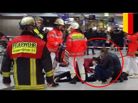 Dusseldorf train station attack: Man with ax goes on rampage, injures 7 passengers - TomoNews
