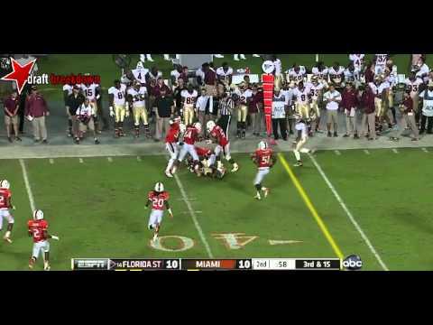Denzel Perryman vs Florida St. 2012 video.