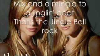 Aly & Aj - Jingle Bell Rock (with lyrics)