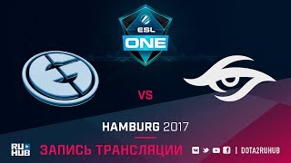 Evil Geniuses vs Secret, ESL One Hamburg [GodHunt, Dead_Angel]