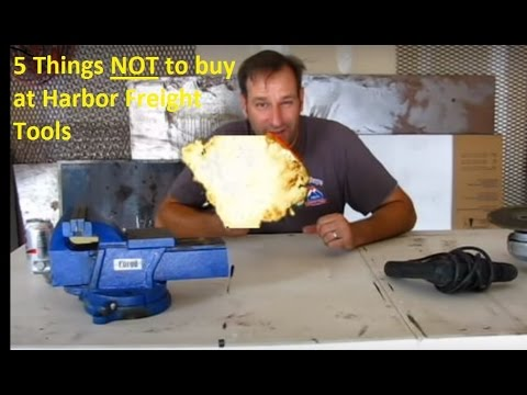 5 Items NOT to Buy from Harbor Freight Tools