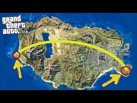 Can Michael Survive Running Across The Entire GTA 5 Map In A Meteor Shower? (GTA 5 Mods)