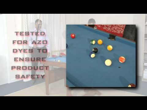 Video Demonstration of the BCE Clifton 4ft 6in Folding Pool Table