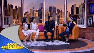 Good Afternoon - Test kekompakan Angel Karamoy dan Kezia Chibi