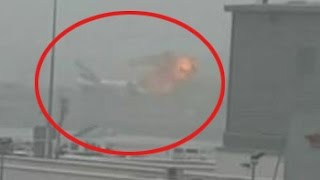 Emirates plane from Thiruvananthapuram crash-lands in Dubai, passengers safe