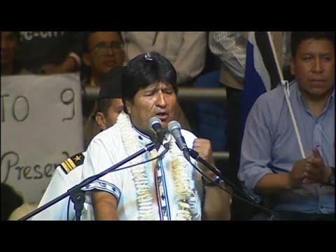 Βολιβία: Γιόρτασε 13 χρόνια στην εξουσία ο Μοράλες
