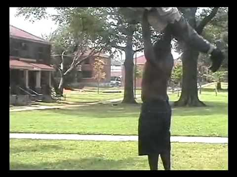 Crackhead Throwing Contest! WTF?