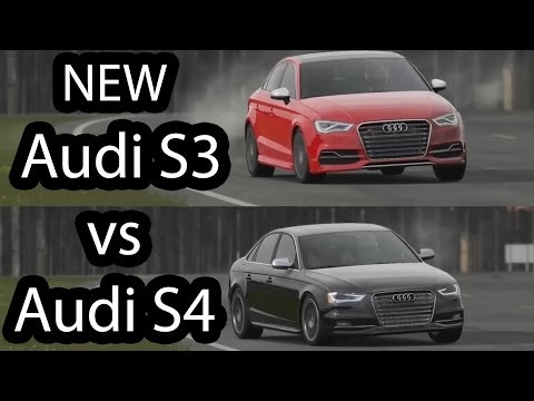 New Audi S3 vs Audi S4 Top Gear