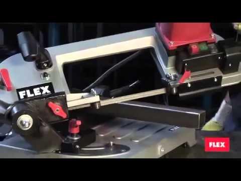 Видео Пила ленточная Flex SBG 4910