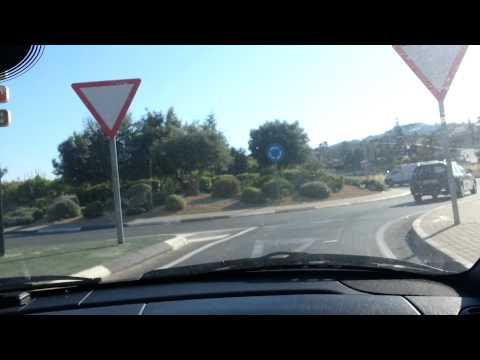 Cruising home in Moraira