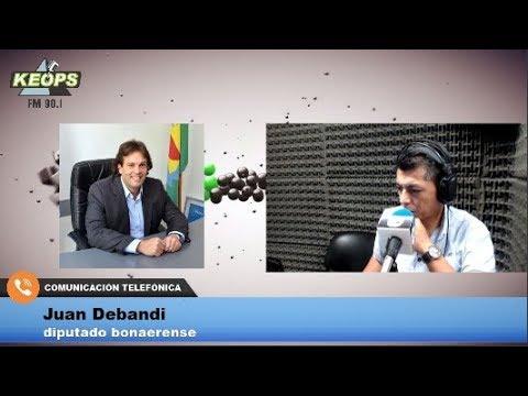 Diputado Debandi habló sobre el pedido de interpelación a Sánchez Zinny