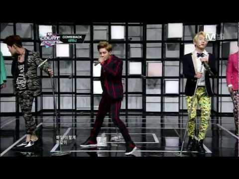 M Countdown - 130221 M! Countdown SHINee Comeback Stage - 아름다워+Dream Girl Copyright infringement not intended. | http://twitter.com/jamieee801 SHINee 's Guerilla Date link...