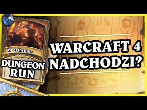 WARCRAFT 4 NADCHODZI? - ROGUE - Hearthstone Dungeon Run (видео)