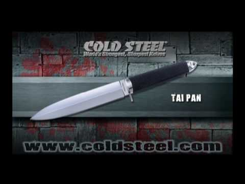"Cold Steel Tai Pan Fixed Blade Knife (7.5"" San Mai III) 13D"