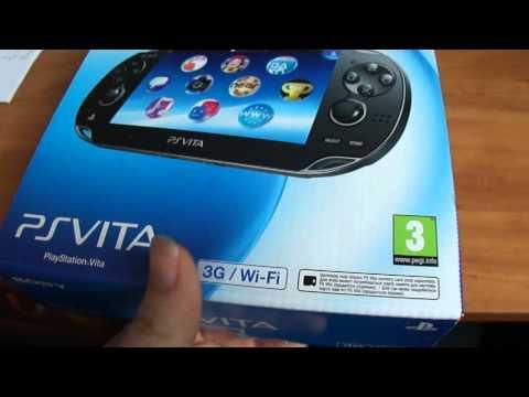 Распаковка Российской версии PS Vita. (PlayStation Vita)