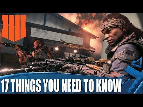 Black Ops 4 - 17 Things You Need To Know Before You Play