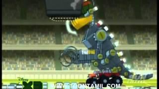 Kick Buttowski - Kickasaurus Wrecks [Tamil]