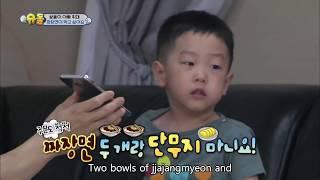 Twins' House - I want to eat Jjajangmyeon [The Return of Superman / 2016.10.09]
