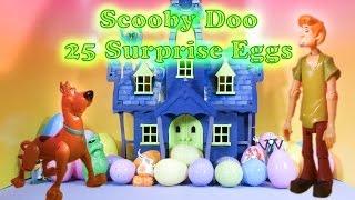 SCOOBY DOO The Scooby Doo Spooky Surprise Eggs a Scooby Doo Surprise Egg Video