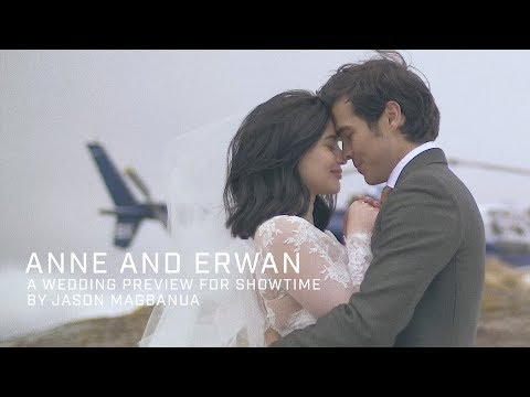 Anne Curtis and Erwan Heussaff: A Wedding Preview for Showtime (видео)