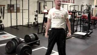 Painful 329lb Deadlift Passout