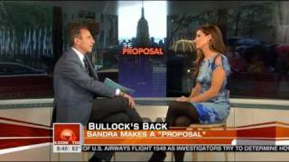 Video Of Matt Lauer Interviewing Sandra Bullock Is Making Everyone Cringe EXTRA Hard