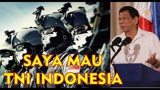 Video PRESIDEN FILIPINA : Saya TAK PERLU Bantuan MILITER AS Yang SAYA MAU TNI INDONESIA MP3, 3GP, MP4, WEBM, AVI, FLV April 2019