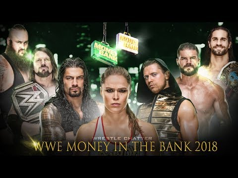 WWE Money in the Bank 2018 Highlights Match Card Predictions ! MITB 2018 Matches Predictions !