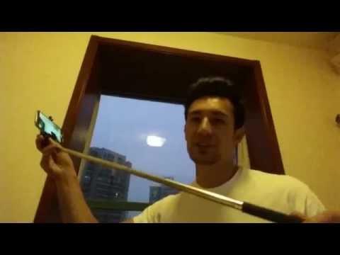 selfie stick pro with built in remote for gopro apple android phones best. Black Bedroom Furniture Sets. Home Design Ideas