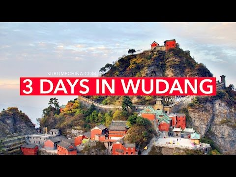 3 Days in the sacred Wudang Taoist Mountain | Wudang Itinerary & Tour Suggestion
