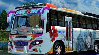 Video ASHOK LEYLAND bus mod Euro truck simulator 2...Area private bus.... MP3, 3GP, MP4, WEBM, AVI, FLV Juni 2018