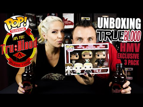 True Blood Funko Pop! Set Unboxing Video Review (HMV Exclusive)