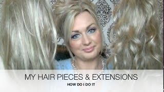 Video MY HAIR PIECES AND EXTENSIONS - HairDo by KEN PAVES-HOW TO MP3, 3GP, MP4, WEBM, AVI, FLV Agustus 2018