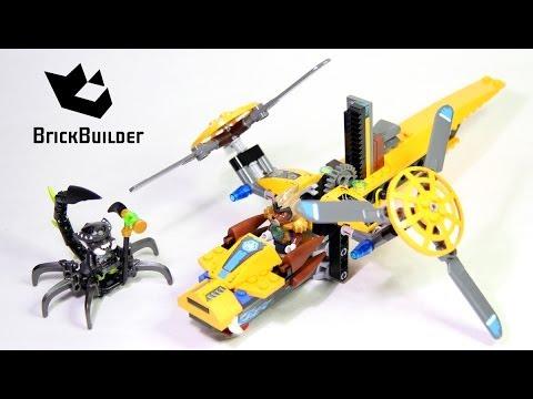 Vidéo LEGO Chima 70129 : L'hélicoptère de Lavertus