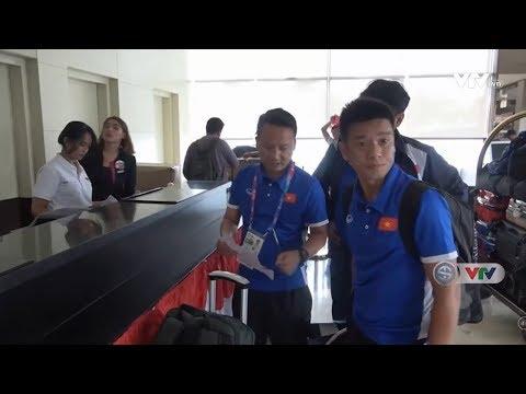 ASIAD 2018: ĐT Olympic Việt Nam chuyển sang khách sạn khác tốt hơn để chuẩn bị cho vòng 1/8 | VTV24 (видео)