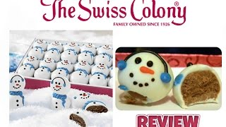 Today I review THE SWISS COLONY Holiday gift boxes that I received from Youtuber Michael Barnhill and Jennifer and April ...